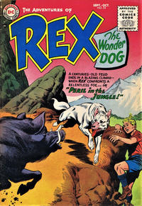 Cover Thumbnail for The Adventures of Rex the Wonder Dog (DC, 1952 series) #23