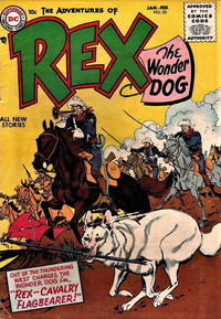 Cover Thumbnail for The Adventures of Rex the Wonder Dog (DC, 1952 series) #25