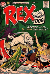 Cover Thumbnail for The Adventures of Rex the Wonder Dog (DC, 1952 series) #34