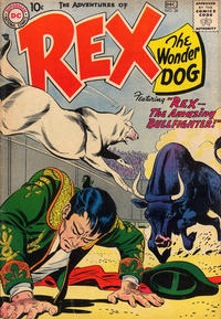 Cover Thumbnail for The Adventures of Rex the Wonder Dog (DC, 1952 series) #36