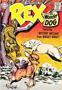 Cover Thumbnail for The Adventures of Rex the Wonder Dog (DC, 1952 series) #38