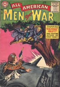 Cover Thumbnail for All-American Men of War (DC, 1953 series) #22
