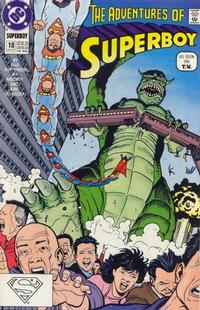 Cover Thumbnail for The Adventures of Superboy (DC, 1991 series) #18