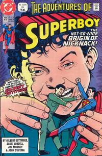Cover Thumbnail for The Adventures of Superboy (DC, 1991 series) #20 [Direct]