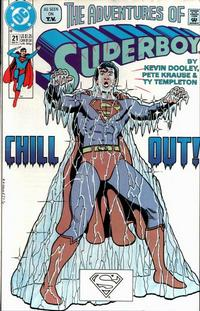 Cover Thumbnail for The Adventures of Superboy (DC, 1991 series) #21 [Direct]