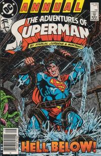 Cover Thumbnail for Adventures of Superman Annual (DC, 1987 series) #1 [Newsstand]
