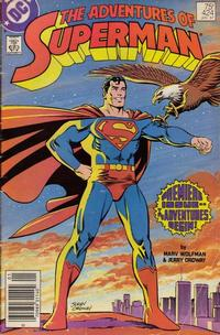 Cover Thumbnail for Adventures of Superman (DC, 1987 series) #424 [Newsstand]