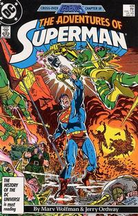 Cover Thumbnail for Adventures of Superman (DC, 1987 series) #426 [Direct Sales]