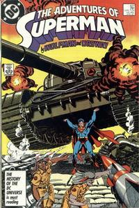 Cover Thumbnail for Adventures of Superman (DC, 1987 series) #427 [Direct]