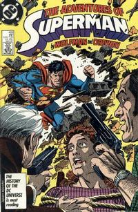 Cover Thumbnail for Adventures of Superman (DC, 1987 series) #428 [Direct Sales]