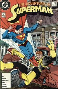 Cover Thumbnail for Adventures of Superman (DC, 1987 series) #430 [Direct Sales]