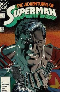 Cover Thumbnail for Adventures of Superman (DC, 1987 series) #431 [Direct Sales]