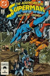 Cover Thumbnail for Adventures of Superman (DC, 1987 series) #434