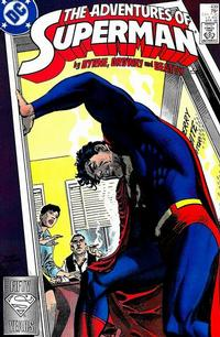 Cover Thumbnail for Adventures of Superman (DC, 1987 series) #439 [Direct]