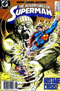Cover Thumbnail for Adventures of Superman (DC, 1987 series) #443