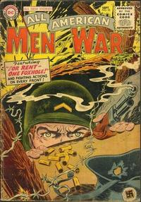 Cover Thumbnail for All-American Men of War (DC, 1953 series) #25