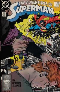 Cover Thumbnail for Adventures of Superman (DC, 1987 series) #445 [Direct]
