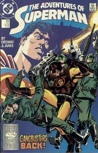 Cover Thumbnail for Adventures of Superman (DC, 1987 series) #446 [Direct]