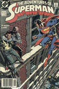 Cover Thumbnail for Adventures of Superman (DC, 1987 series) #448 [Newsstand]