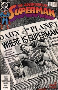 Cover Thumbnail for Adventures of Superman (DC, 1987 series) #451