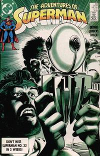 Cover Thumbnail for Adventures of Superman (DC, 1987 series) #455 [Direct]