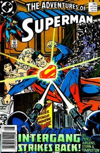 Cover Thumbnail for Adventures of Superman (DC, 1987 series) #457 [Newsstand]