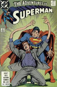 Cover Thumbnail for Adventures of Superman (DC, 1987 series) #458 [Direct]