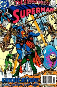 Cover Thumbnail for Adventures of Superman (DC, 1987 series) #460 [Newsstand]