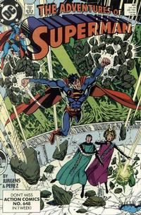 Cover Thumbnail for Adventures of Superman (DC, 1987 series) #461 [Direct]