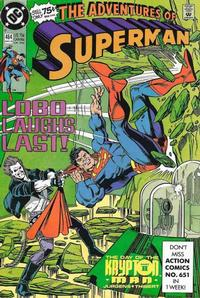 Cover Thumbnail for Adventures of Superman (DC, 1987 series) #464 [Direct]