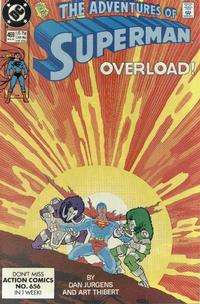 Cover Thumbnail for Adventures of Superman (DC, 1987 series) #469 [Direct]