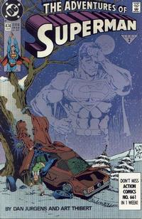 Cover Thumbnail for Adventures of Superman (DC, 1987 series) #474 [Direct]