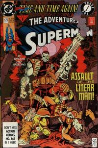 Cover Thumbnail for Adventures of Superman (DC, 1987 series) #476 [Direct]