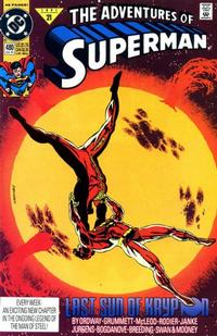 Cover Thumbnail for Adventures of Superman (DC, 1987 series) #480 [Direct]
