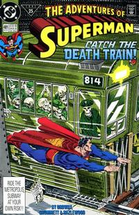 Cover Thumbnail for Adventures of Superman (DC, 1987 series) #481 [Direct]