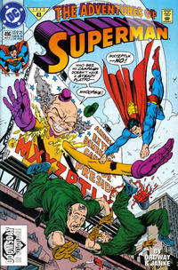 Cover Thumbnail for Adventures of Superman (DC, 1987 series) #496 [Direct]