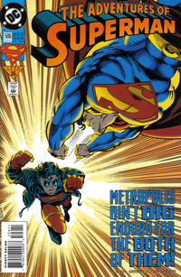 Cover Thumbnail for Adventures of Superman (DC, 1987 series) #506 [Direct Sales]