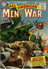 Cover for All-American Men of War (DC, 1952 series) #32