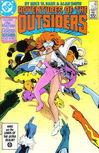 Cover Thumbnail for Adventures of the Outsiders (DC, 1986 series) #34 [Direct Sales]