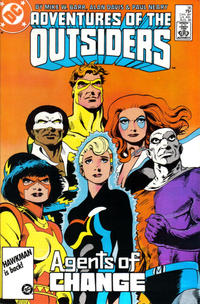 Cover Thumbnail for Adventures of the Outsiders (DC, 1986 series) #36 [Direct Sales]