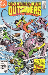 Cover Thumbnail for Adventures of the Outsiders (DC, 1986 series) #37 [Direct Sales]