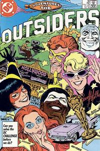 Cover Thumbnail for Adventures of the Outsiders (DC, 1986 series) #38 [Direct]