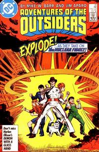 Cover Thumbnail for Adventures of the Outsiders (DC, 1986 series) #40 [Direct]