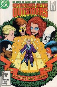 Cover Thumbnail for Adventures of the Outsiders (DC, 1986 series) #43 [Direct Sales]