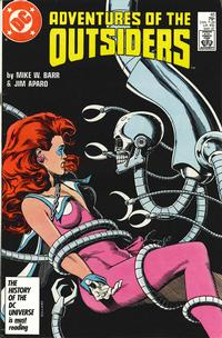 Cover Thumbnail for Adventures of the Outsiders (DC, 1986 series) #45 [Direct Sales]
