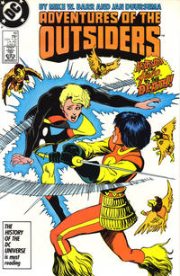 Cover Thumbnail for Adventures of the Outsiders (DC, 1986 series) #46 [Direct Sales]