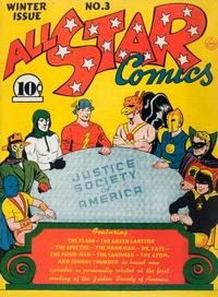 Cover Thumbnail for All-Star Comics (DC, 1940 series) #3 [Without Canadian Price]