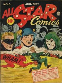 Cover Thumbnail for All-Star Comics (DC, 1940 series) #6