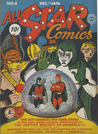 Cover Thumbnail for All-Star Comics (DC, 1940 series) #8