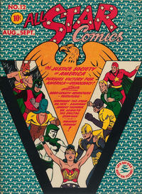 Cover Thumbnail for All-Star Comics (DC, 1940 series) #12
